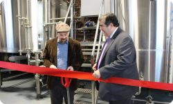 Equilibrium Brewery Ribbon Cutting December 15th 2016