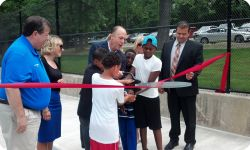 The Grand Opening Of The War Veterans Memorial Pool