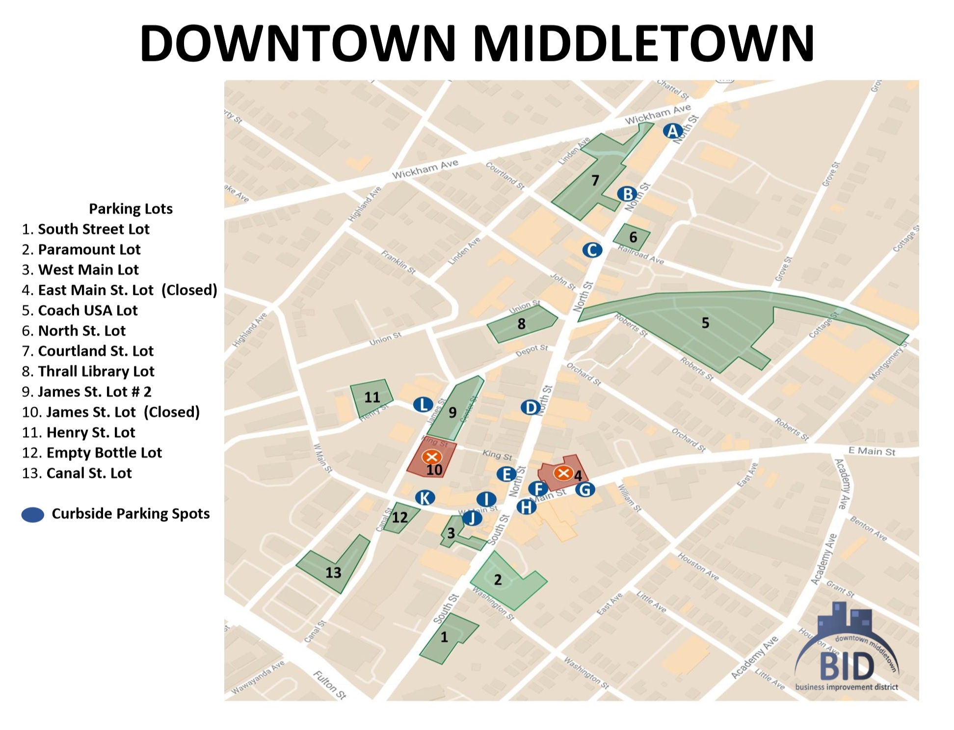 downtown map