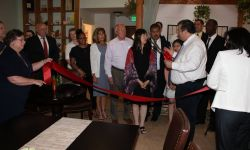 The Tea Garden Ribbon Cutting