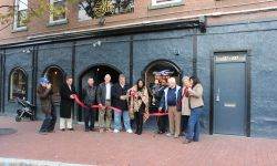 The 2018 Ribbon Cutting For The Bee Tavern