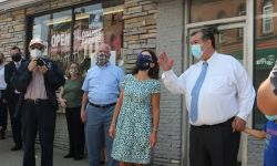 Lieutenant Governor of New York Kathy Hochul visit to Downtown Middletown